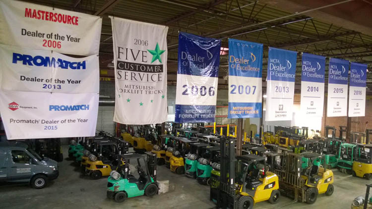 forklifts in raleigh