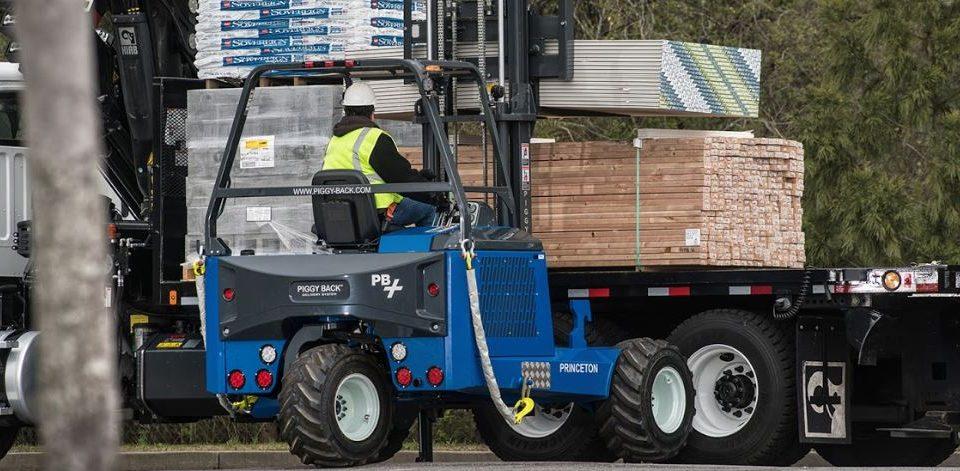PiggyBack truck-mounted forklifts