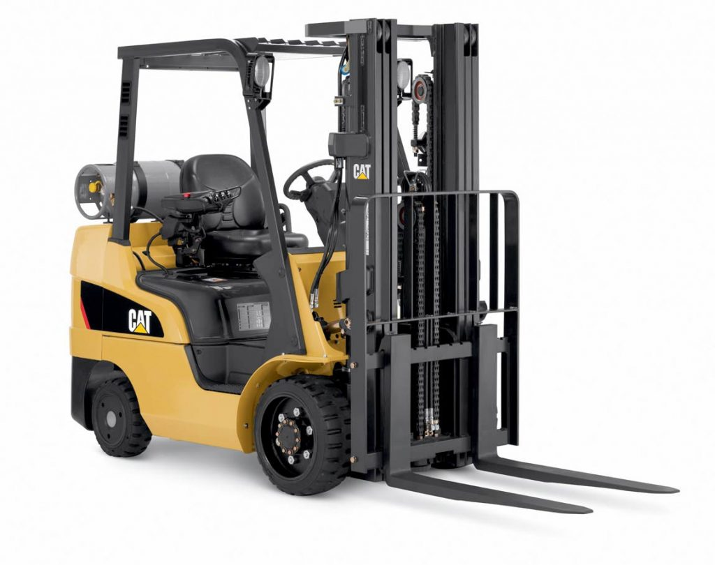 Cat Fork Lift : Cat lift trucks cushion tire pneumatic electric