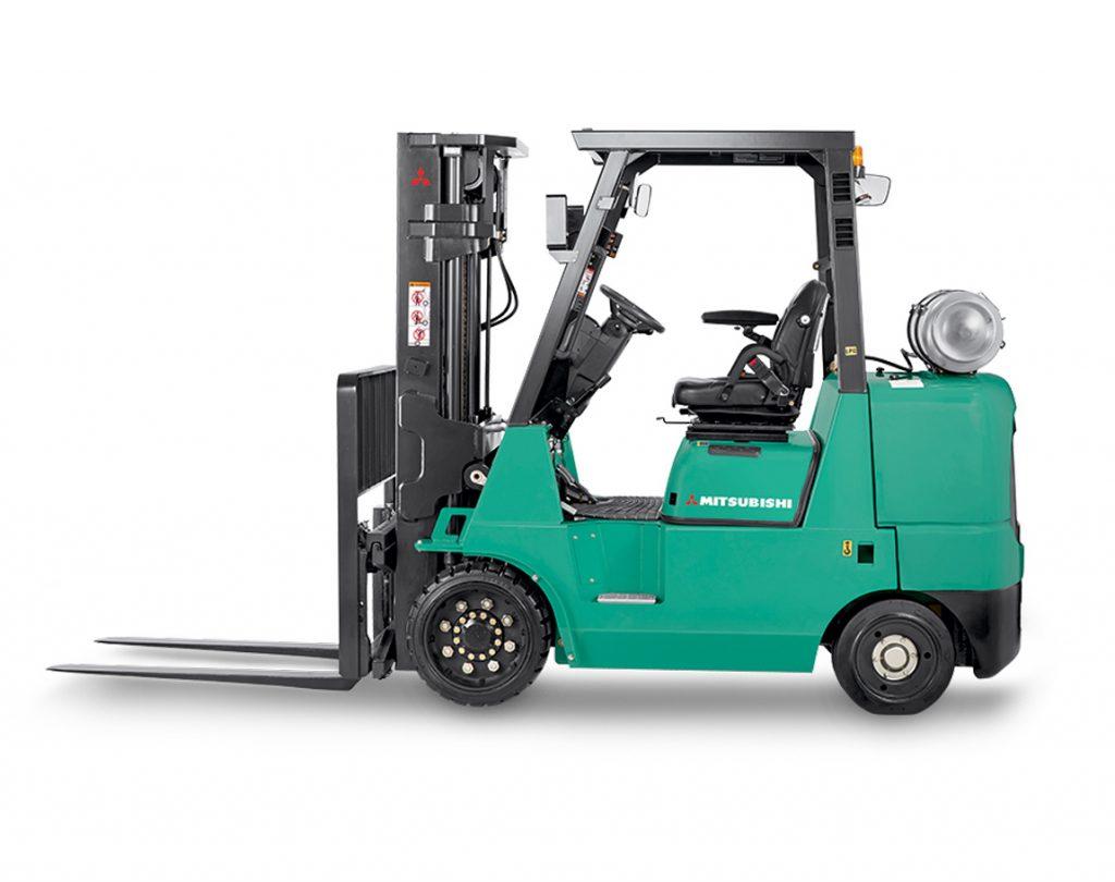 Checking Tire Pressure >> Mitsubishi Forklift Trucks, Cusion & Pneumatic Tire