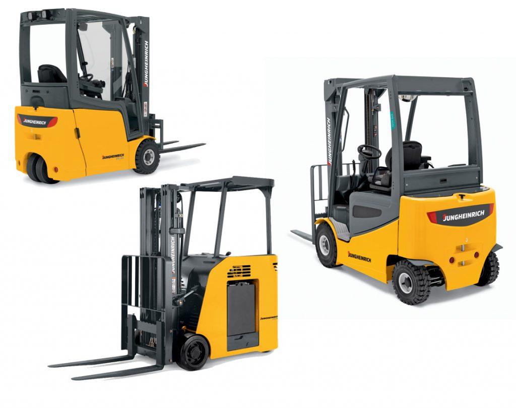 Electric Forklift Jungheinrich Erv308: Customized Forklift Solutions