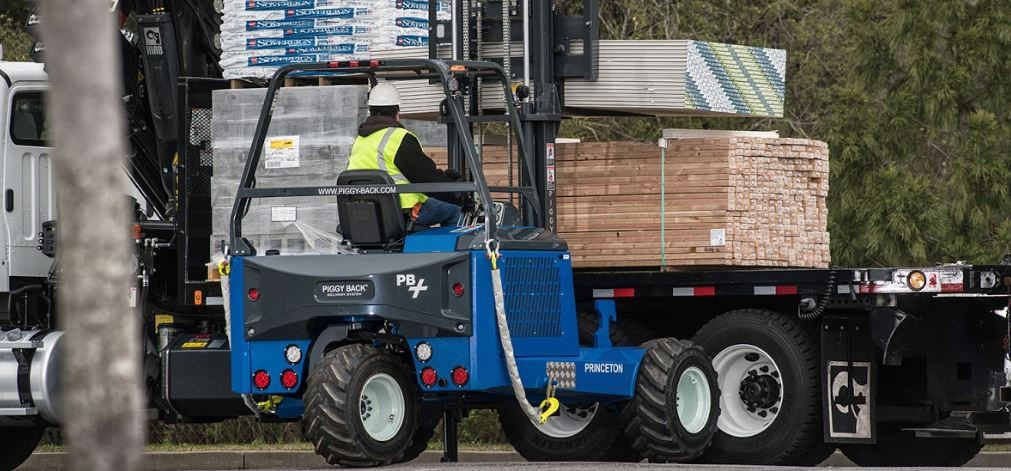 PiggyBack truck-mounted forklifts