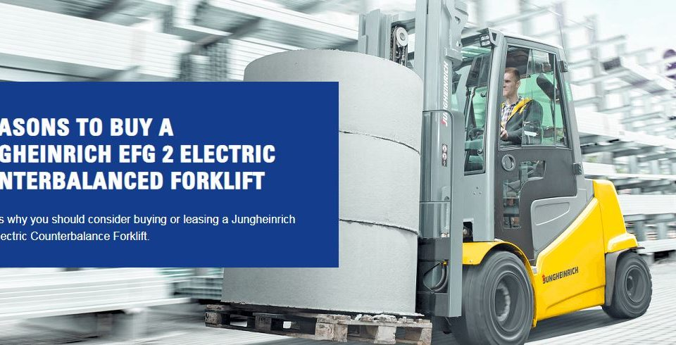 6 reasons to buy an EFG-2 Jungheinrich forklift