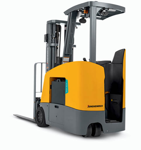 the NEW Jungheinrich Counterbalanced lift truck